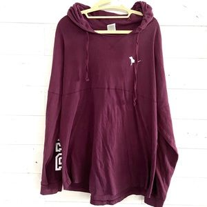 Pink light hoodie size L